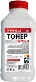 Тонер ColorWay HP LJ P1005/1102/1010/2035 Premium 100 г (TH-U05-0.1)