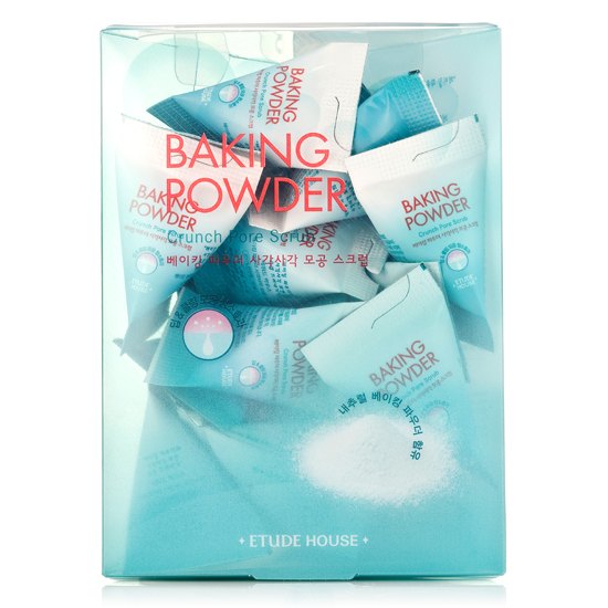 Скраб для очищения пор с содой Etude House Baking Powder Crunch Pore Scrub (8806199447990)