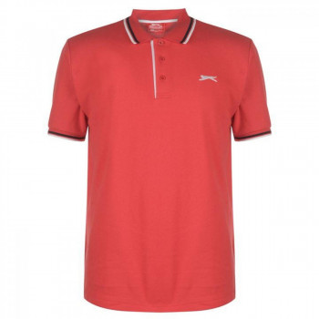 Поло Slazenger Tipped Cherry Red, 4XL (10073242)