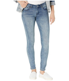 Джинси Bebe Rhinestone Logo Skinny Jeans in Axis Wash Unknown Color, 4XL (US 26) (10319693)