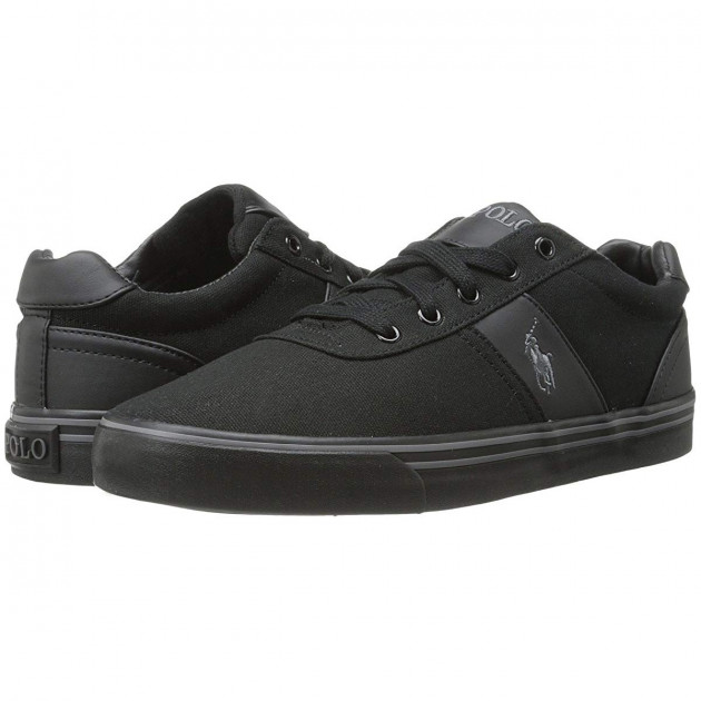 Кеды Polo Ralph Lauren Hanford Black/Cream/Black, 48 (335 мм) (10390722) - изображение 1