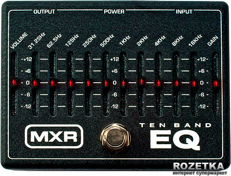 Педаль эффектов Dunlop M108 MXR 10-Band Graphic EQ
