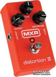 Педаль эффектов Dunlop M115 MXR Distortion III