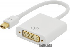 Адаптер Digitus Ednet Mini DisplayPort to DVI-I (AM/ AF) 0.15 м White (84509)