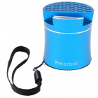 Bluetooth-колонка Peterhot PTH-307, speakerphone, Shaking. BLUE - изображение 1