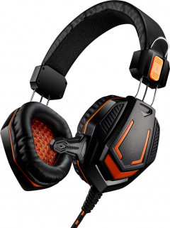 Игровые наушники Canyon Fobos Black/Orange (CND-SGHS3)