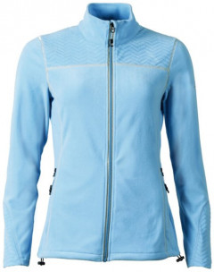 Спортивная кофта Northland Bellina Fleece Jacke 0981428 38 Голубая (9009451816018)
