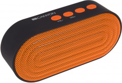 Акустическая система Canyon Portable Bluetooth Speaker Black/Orange (CNE-CBTSP3BO)