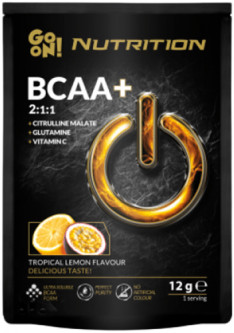 Аминокислота GO ON Nutrition BCAA Tropical Lemon 400 г (5900617037411)