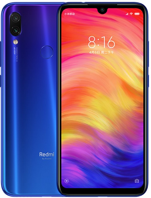 Мобильный телефон Xiaomi Redmi Note 7 4/128GB Blue (Global ROM + OTA)