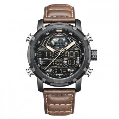 Мужские часы Naviforce World NF9160 Brown