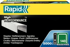 Скобы Rapid Flatwire Staples Galva 140/8 5000 штук (11908111)