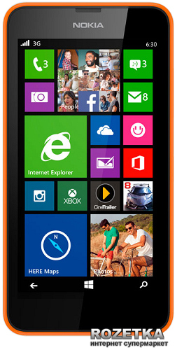 Nokia Lumia 630 Quad Core Dual Sim Orange