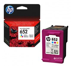 Картридж HP No.652 DJ Ink Advantage 1115/2135/3635/3835 Color (F6V24AE)