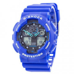 Наручные часы Casio G-Shock GA-100 Blue-Black (10060463)