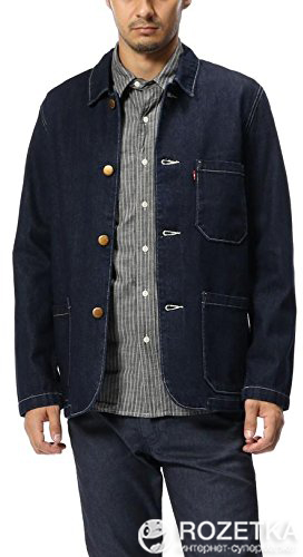 Джинсовая куртка Levi s Engineers Coat Good Rinse Denim M (19294-0000) 95a0f56fd39e0