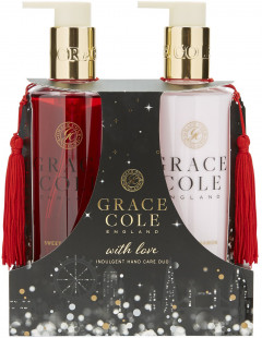 Набор для женщин Grace Cole Indulgent Hand Care Duo Sweet Cinnamon & Myrrh 2 х 300 мл (5055443690788)