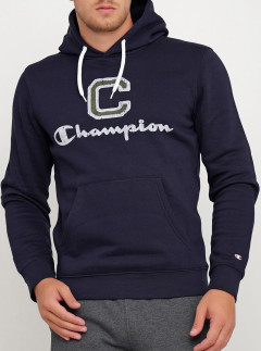 Худи Champion Hooded Sweatshirt cha213437-NNY M Синее (8056426458903)