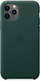 Панель Apple Leather Case для Apple iPhone 11 Pro Forest Green (MWYC2ZM/A)