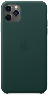 Панель Apple Leather Case для Apple iPhone 11 Pro Max Forest Green (MX0C2ZM/A)