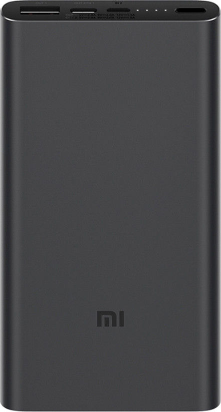 УМБ Xiaomi Mi Power Bank 3 10000 mAh USB-C PLM12ZM Black