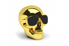 Акустическая система Jarre Technologies AeroSkull Nano Chrome Gold