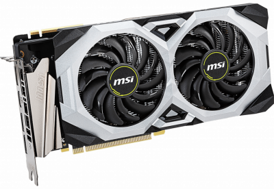 MSI PCI-Ex GeForce RTX 2070 Super Ventus OC 8GB GDDR6 (256bit) (1785/14000) (HDMI, 3 x DisplayPort) (RTX 2070 Super Ventus OC)
