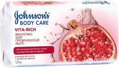 Мыло Johnson's Body Care Vita Rich Преображающее с экстрактом цветка граната 125 г (3574661239545)