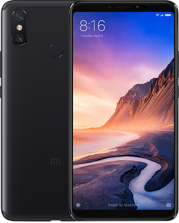 Мобильный телефон Xiaomi Mi Max 3 6/128GB Black (Global ROM + OTA)