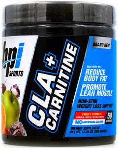 Жиросжигатель BPI Cla Plus Carnitine 300 г - Fruit Punch (811213026653)