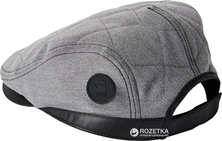 Кепка G-Star Raw Filler Flatcap D00576.6306 One Size Серая (8718599430666) e2c1eda0f32