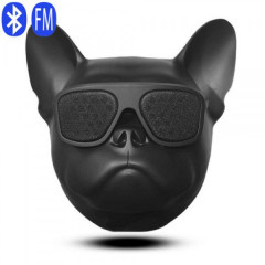 Портативная Bluetooth колонка Aerobull DOG Head Big Black 10W speakerphone радио сенсорное управление USB зарядка (7001 L)