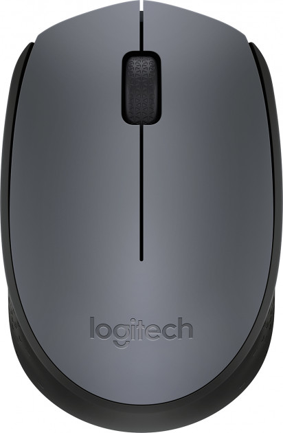 Мышь Logitech M170 Wireless Black/Grey (910-004642) - изображение 1