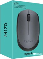 Мышь Logitech M170 Wireless Black/Grey (910-004642) - изображение 5
