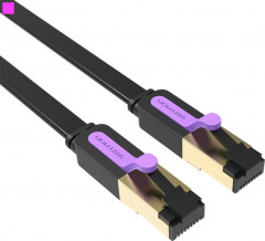 Патч-корд Vention CAT7 SSTP Ethernet, 2 м Black (ICABH) (65780736)