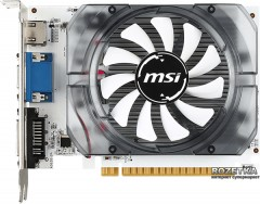 MSI PCI-Ex GeForce GT 730 4096MB DDR3 (128bit) (700/1000) (VGA, DVI, HDMI) (N730-4GD3V2)
