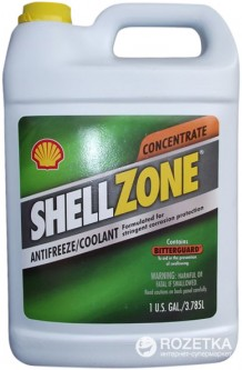 Антифриз Shell Zone Antifreeze Concentrate 3.78 л (021400940109)