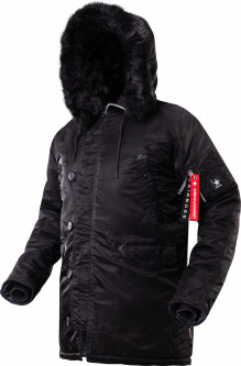 Парка Airboss Winter Parka L Black (733447690595)