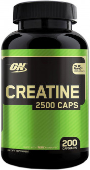 Креатин Optimum Nutrition Creatine 2500 200 капсул (748927021349)