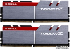 Оперативная память G.Skill DDR4-2800 16384MB PC4-22400 (Kit of 2x8192) Trident Z (F4-2800C15D-16GTZB)