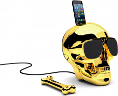 Колонки Jarre Technologies AeroSkull HD+ Chrome Gold ML81022