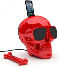 Колонки Jarre Technologies AeroSkull HD+ Glossy Red ML81025