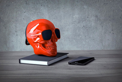 Колонки Jarre Technologies AeroSkull XS+ Glossy Red ML80075