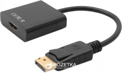 Переходник Value DisplayPort Male - HDMI Female 0.2 м (S0108)