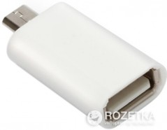 Переходник Value OTG USB AF - MicroUSB AM (S0510)