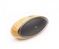 Беспроводная Bluetooth Колонка Remax RB-H7 Original Bass + Wood (00302)