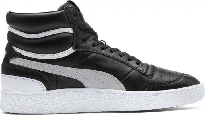 Сникеры Puma Ralph Sampson Mid 37084701 45 (10.5) 29.5 см Black-Gray Violet-White (4060981095668)