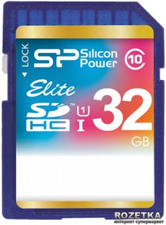 Silicon Power SDHC 32GB Class 10 UHS-I Elite (SP032GBSDHAU1V10)