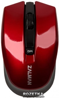 Мышь Zalman ZM-M520W Wireless Black/Red