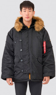 Парка Alpha Industries N-3B Parka 5XL Black